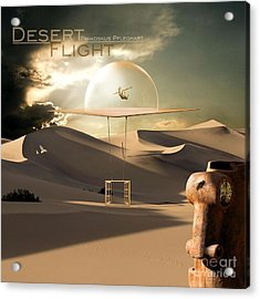 Desert Flight Acrylic Print