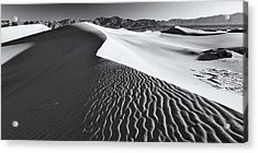 Acrylic Print featuring the photograph Desert Flow by Patrick Downey