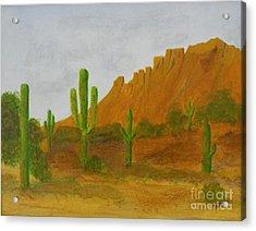 Desert Forest Acrylic Print