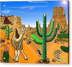 Desert Hands Acrylic Print