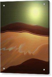 Desert Heat II Acrylic Print
