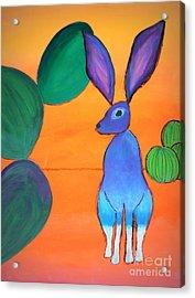 Desert Jackrabbit Acrylic Print