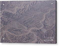 Desert Acrylic Print by Jan Wolf