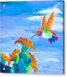 Desert Jewel Acrylic Print by Tracy L Teeter