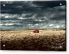 Acrylic Print featuring the photograph Desert Landscape by Julie Lueders