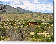Acrylic Print featuring the photograph Desert Landscape by Lawrence Burry