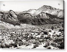 Desert Peaks Acrylic Print by John Rizzuto