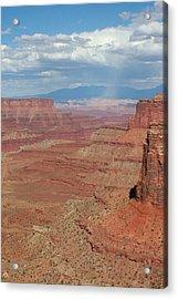 Desert Rain Acrylic Print