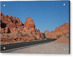 Desert Rock Formations Acrylic Print