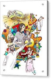 Desert Safari Acrylic Print