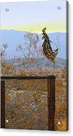 Desert Sentinel Acrylic Print