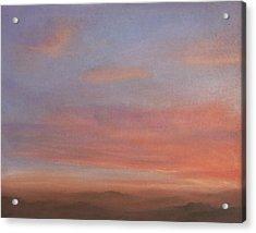 Desert Sky A Acrylic Print