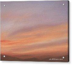 Desert Sky C Acrylic Print