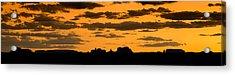 Desert Sky Panorama Acrylic Print