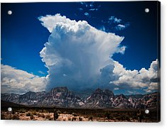 Acrylic Print featuring the photograph Desert Storm by Chris McKenna