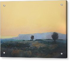 Acrylic Print featuring the painting On To California by Cap Pannell