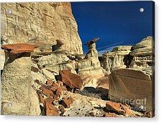 Desert Towers Acrylic Print by Adam Jewell