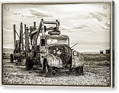 Desert Truck Acrylic Print