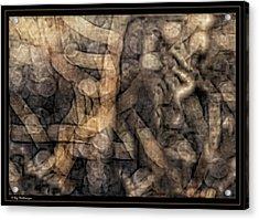 Desert Twigs Acrylic Print