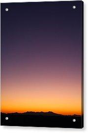 Desert Twilight Acrylic Print
