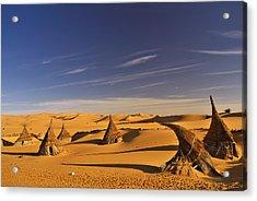 Desert Village Acrylic Print