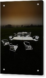 ...deserted Dessert.. Acrylic Print by Russell Styles