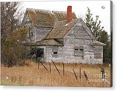 Deserted House Acrylic Print by Mary Carol Story