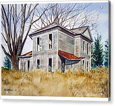 Deserted House  Acrylic Print by Rick Mock