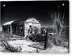 Deserted In The Desert  Acrylic Print by John Rizzuto