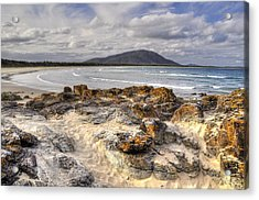 Deserted Shore Acrylic Print by Terry Everson