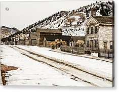 Deserted Street Acrylic Print by Sue Smith