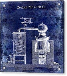Design For A Still Acrylic Print by Jon Neidert