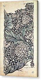 Design For Avon Chintz Acrylic Print by William Morris