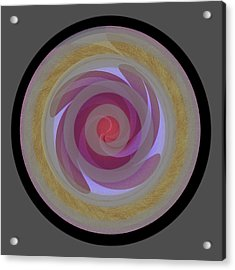 Design Square 68 Acrylic Print by Joe Connors