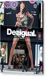 Desigual Storefront Acrylic Print