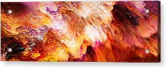 Desire - Abstract Art Acrylic Print