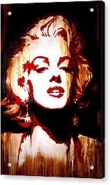 Desire Marilyn Monroe Acrylic Print by Brad Jensen