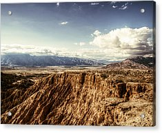 Acrylic Print featuring the photograph Desolate And Beautiful by Jeremy McKay