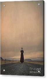 Desolate Ever After Acrylic Print by Evelina Kremsdorf