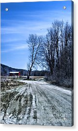 Desolate Road Acrylic Print by HD Connelly