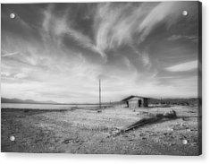Desolation Acrylic Print by Hugh Smith