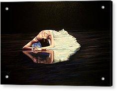 Despair Acrylic Print by Maren Jeskanen