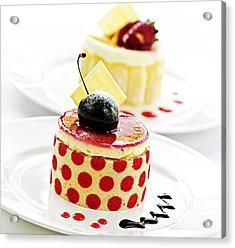 Desserts Acrylic Print by Elena Elisseeva