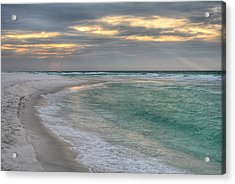 Destin And The Emerald Coast Acrylic Print by JC Findley
