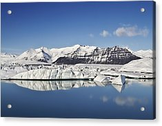 Destination - Iceland Acrylic Print by Evelina Kremsdorf