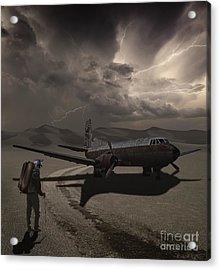 Destination Known Acrylic Print by Keith Kapple