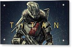 Destiny 2 Titan Acrylic Print