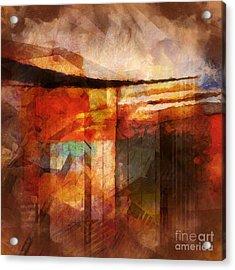 Destinyscape Acrylic Print by Lutz Baar