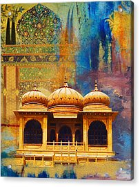Detail Of Mohatta Palace Acrylic Print
