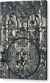 Detail Of The Palace Gate, Catherine Acrylic Print